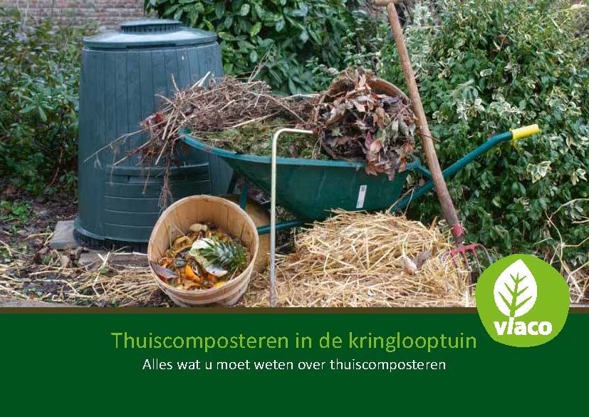 Brochure thuiscomposteren in de kringlooptuin